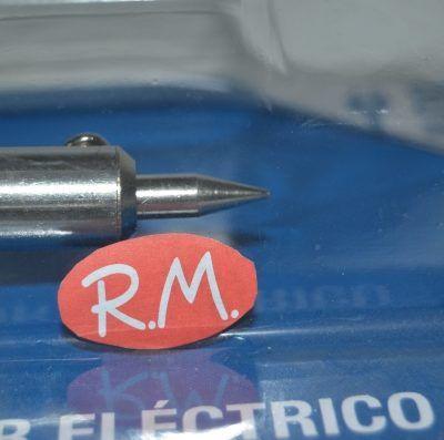 Soldador de estaño eléctrico punta de lápiz 230v 60w