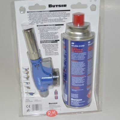 Kit soplete a cartucho de gas Butsir NS-230 con piezo