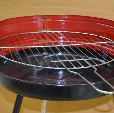 Barbacoa de carbón de chapa Ø430 mm