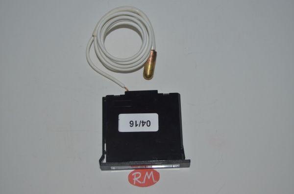 Termómetro - 40° + 40° rectangular con bulbo