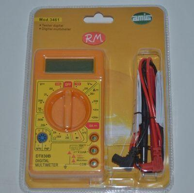 Téster multímetro digital DT830B