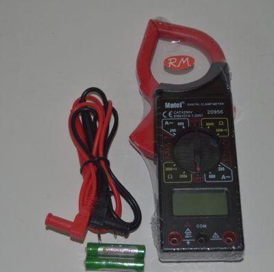 Pinza amperimétrica Tester digital MATEL 20956