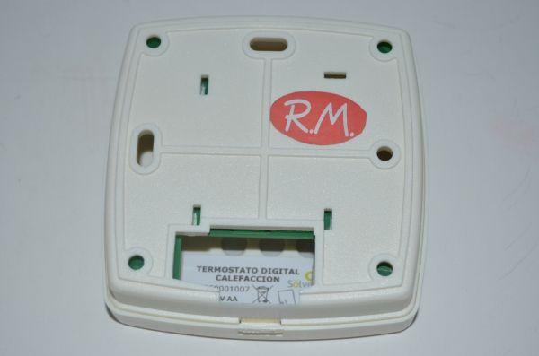 Termostato digital para calefacción Sölver 0550001007