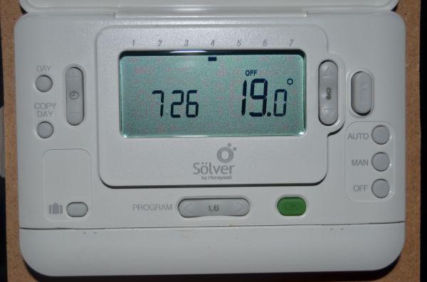 Cronotermostato digital programable semanal Solver CMR707