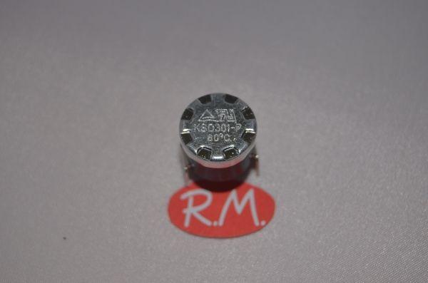 Termostato fijo Ø 16 mm NC 60° sin anclaje 481928248255