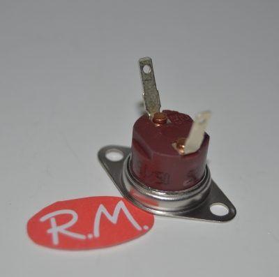 Termostato fijo Ø 16 mm NC 85° con anclaje