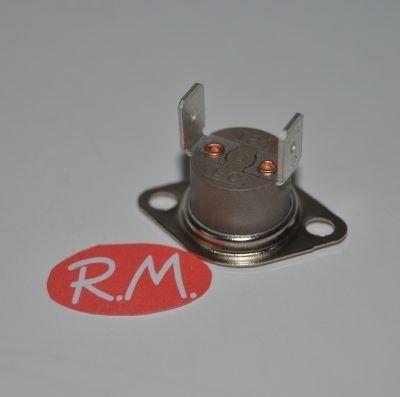 Termostato fijo Ø 16 mm NC 100° con anclaje