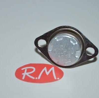 Termostato fijo Ø 16 mm NC 100° con anclaje móvil