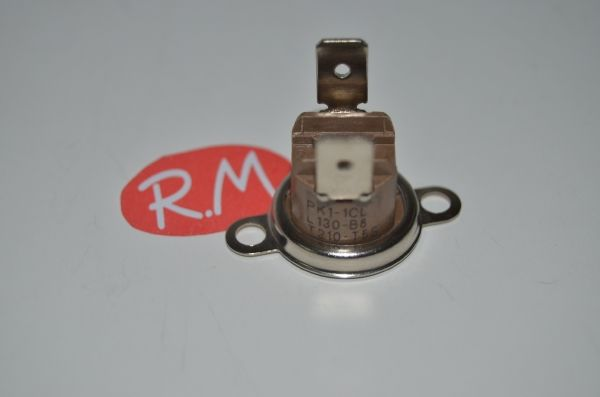 Termostato fijo Ø 16 mm NC 130° secadora 481928248116