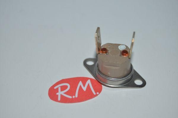 Termostato fijo Ø 16 mm NC 140° con anclaje móvil