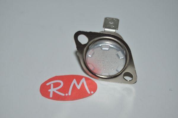 Termostato fijo Ø 16 mm NC 165° con anclaje movil