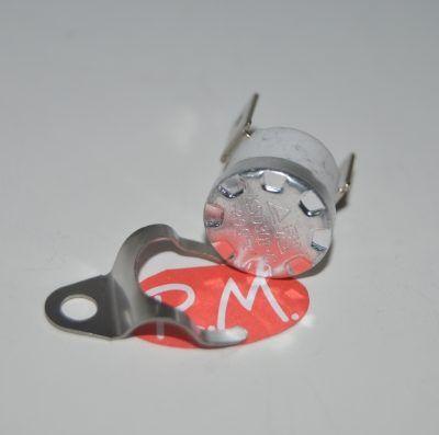 Termostato fijo Ø 16 mm NC 200° con anclaje