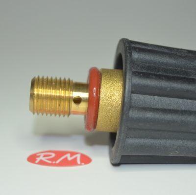 Tapón centro planchado Ø 44 mm rosca macho 1/4' 14 mm