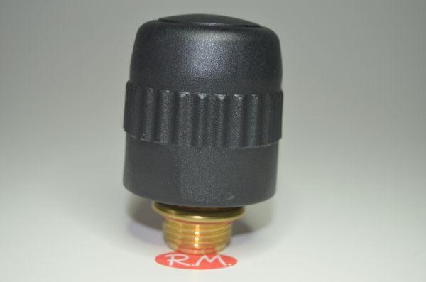 """Tapón de seguridad vapor Ø 45 mm rosca macho 1/2"""" 21 mm"""