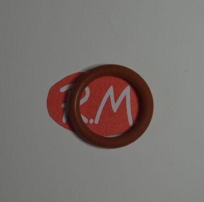 Junta tórica silicona tapón vaporeta Ø 19 x 2,6 mm grueso
