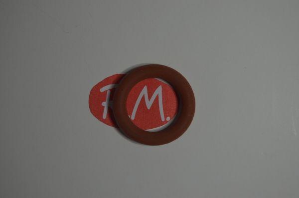 Junta tórica silicona tapón vaporeta Ø 21 x 3,5 mm grueso
