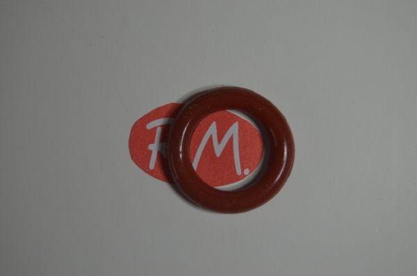 Junta tórica silicona tapón vaporeta Ø 22 x 4,2 mm grueso