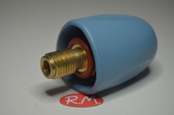"""Tapón de seguridad vapor Ø 40 mm rosca macho 1/4"""" 14 mm"""