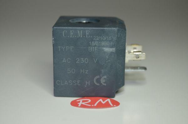 Bobina electroválvula S-66 33 x 35 x 36 mm