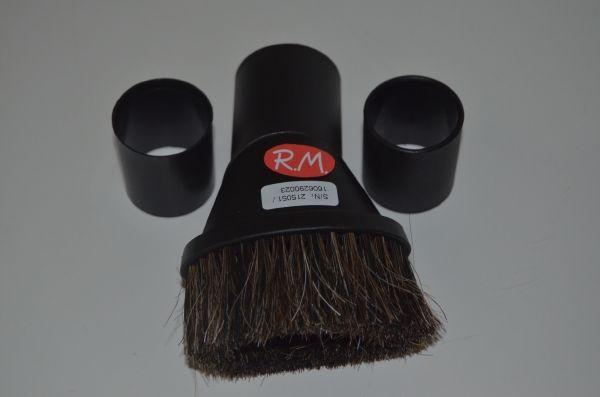 Cepillo para aspirador de polvo de pelo natural con diámetro de 35 - 30 mm