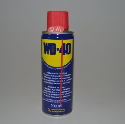 Aceite lubricante en spray 200 ml WD-40