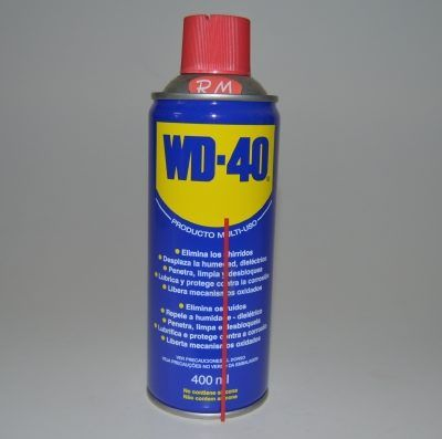 Aceite lubricante en spray 400 ml WD-40