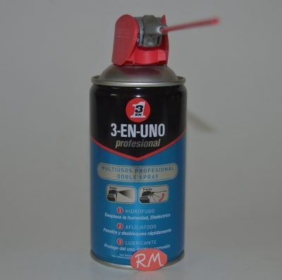 3 EN 1 lubricante doble spray 250 ml