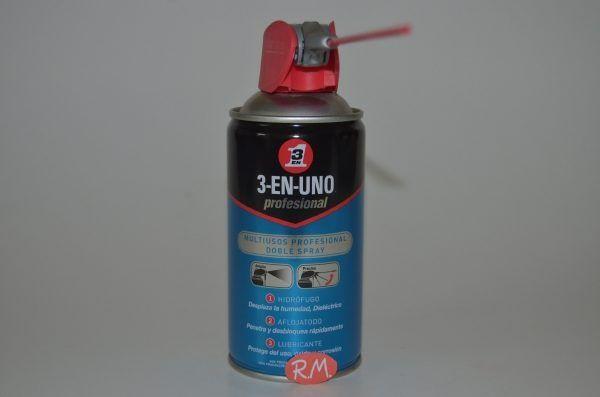3 EN 1 lubricante doble spray 250 ml