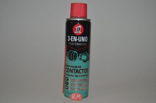 3 EN 1 limpiador de contactos en spray 250 ml