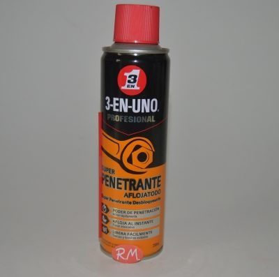 3 EN 1 superpenetrante aflojatodo en spray 250 ml