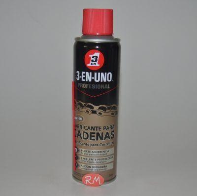 3 EN 1 lubricante para cadenas en spray 250 ml