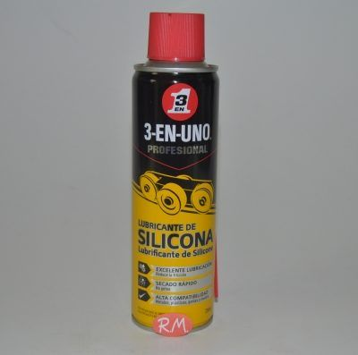 3 EN 1 lubricante de silicona en spray 250 ml