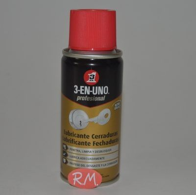 3 EN 1 lubricante cerraduras en spray 100 ml