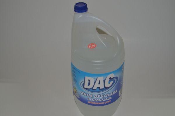 Agua destilada Dipistol botella 5 litro 60040104