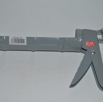 Pistola de cremallera para cartucho de silicona
