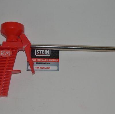 Pistola para espuma poliuretano con regulador