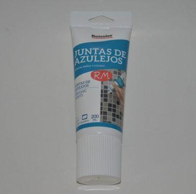 Blanqueador juntas azulejos tubo 200 ml Beissier