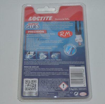 Super Glue 3 5 gr precisión Loctite