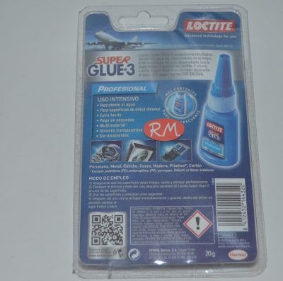 Super Glue 3 20gr profesional Loctite