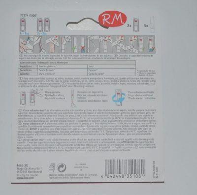 Tesa powerstrip clavo adhesivo pared 1kg 77774