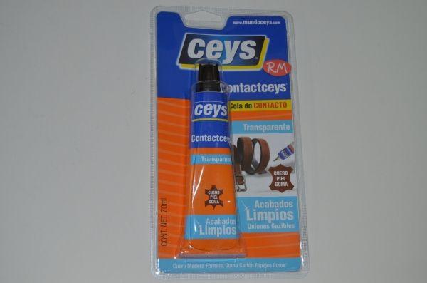 Cola de contacto ContactCeys trasparente Ceys 70 ml