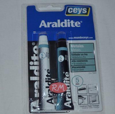 Ceys Araldite 2 componentes soldador en frío 15 + 15ml 510351