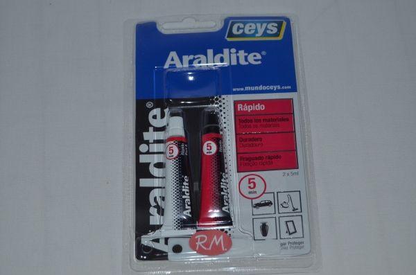 Ceys Araldite 2 componentes rápido 5 + 5 ml 510206