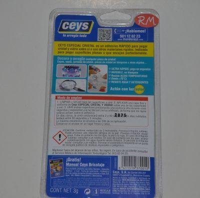 Especial cristal y vidrio CristalCeys blister Ceys 3gr