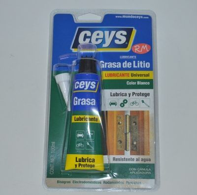 Grasa de litio blanca blister 100 ml Ceys