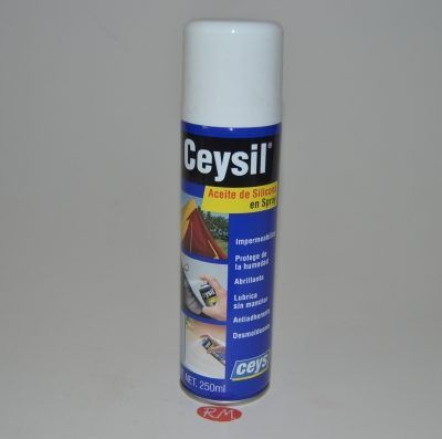 Aceite de silicona Ceysil spray 250 ml Ceys