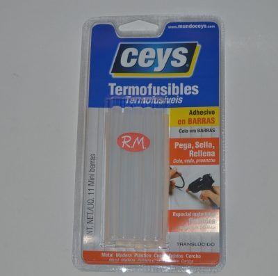 Mini barra translucida silicona termofusible T20 Ceys