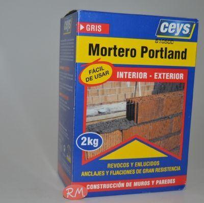 Mortero portland 2 Kg Ceys