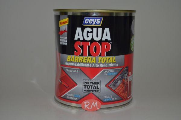 Aquastop Rojo barrera total bote 1 Kg Ceys