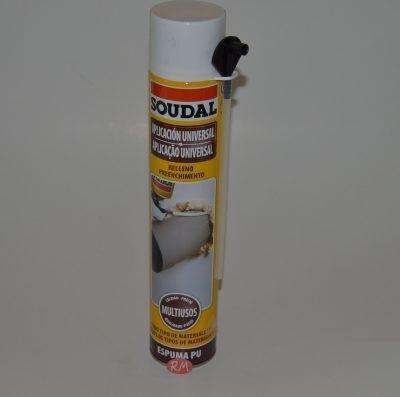 Espuma poliuretano 750 cc Soudal